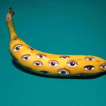 Banana graffiti par Marta Grossi