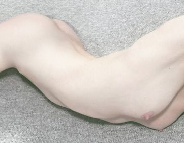 white skin woman body