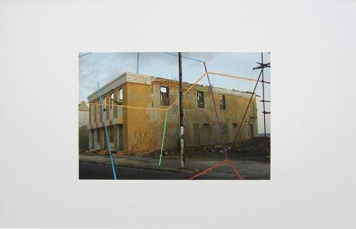 « Willemstadt, 2007 – Amsterdam, 2011 », peinture mixte