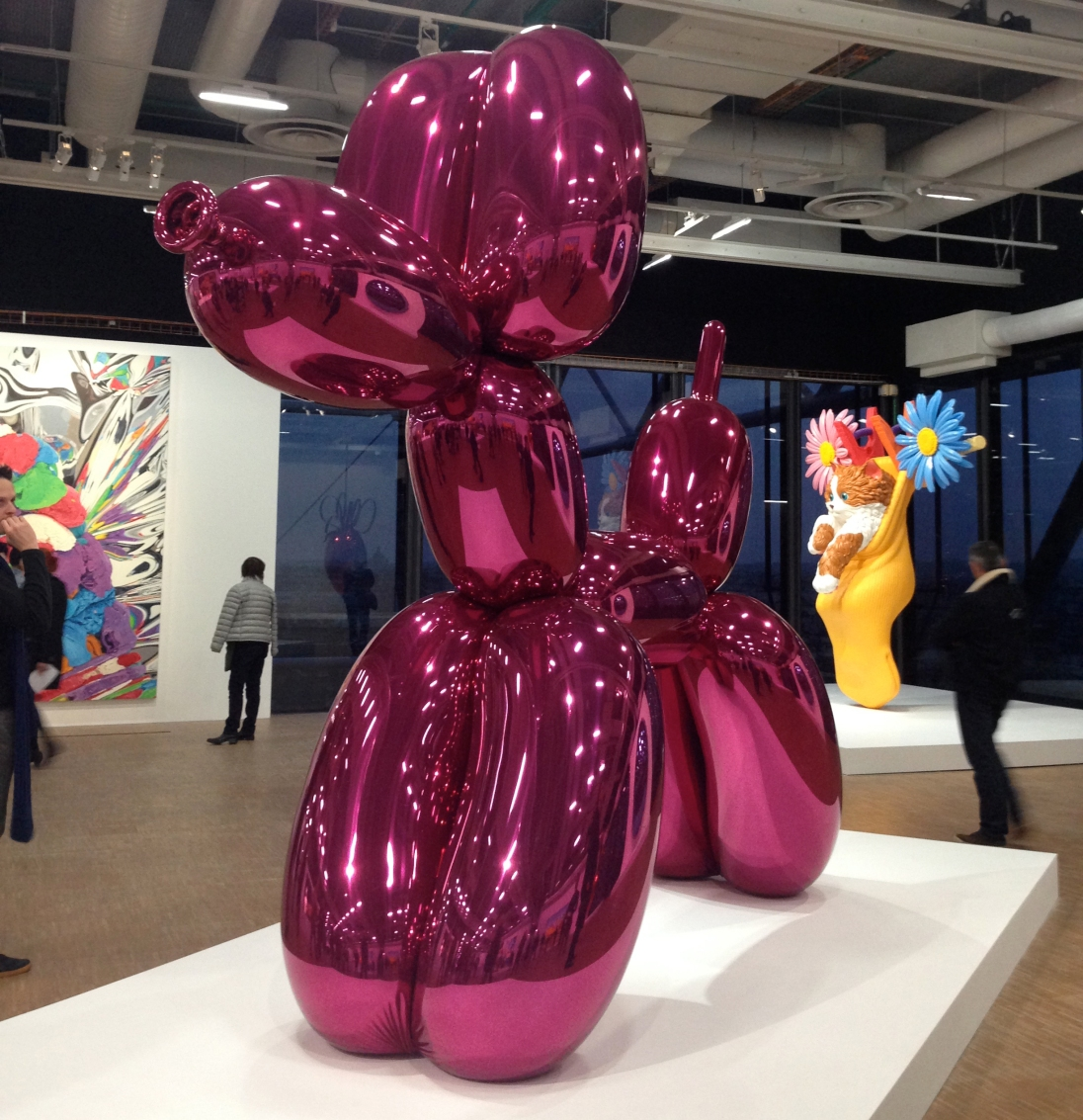 @youneedacocktail on instagram - Jeff Koons at Pompidou Center