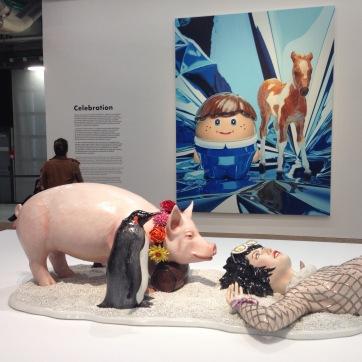 @youneedacocktail on instagram - Jeff Koons at Pompidou Center