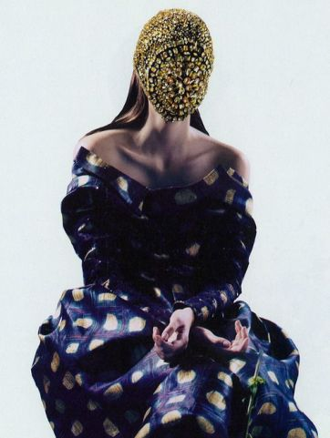 Rochas and maison martin margiela // Dazed and Confused, October 2012