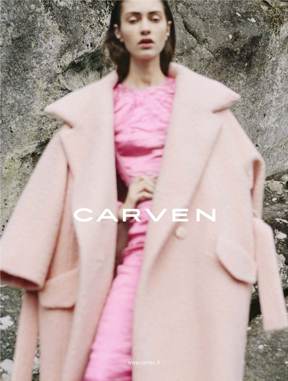 Carven FW 2013 Campaign