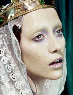 Miles Aldridge, makeup Alice Ghendrih