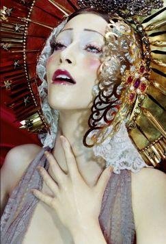 Miles Aldridge, model Alana Zimmer