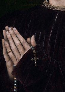 Rogier Van Der Weyden • Portrait of Philippe De Croy (Detail) 1460