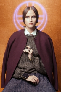 The Way of Byzantium by Marco D'Amico for Vogue Italia