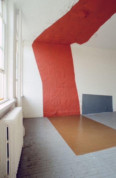 Jessica Stockholder, St Clementines work, 1988
