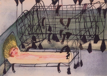 Carol Rama Du 3 avril au 12 juillet au musée d'art moderne de la ville de Paris