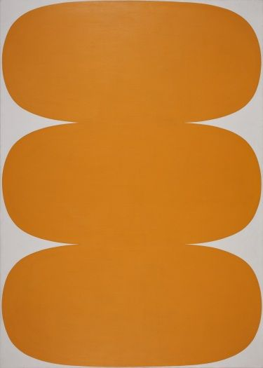 Ellsworth Kelly, Orange White, 1963.