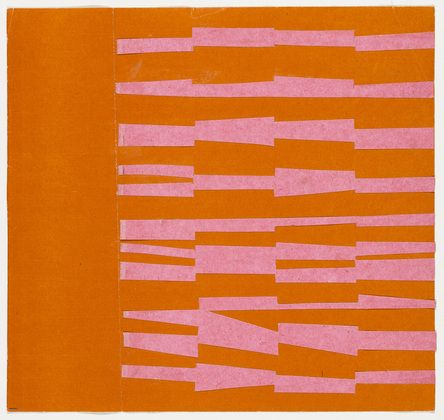 Pink and Orange from the series Line Form Color Ellsworth Kelly (American, born 1923) Museum of Modern Art