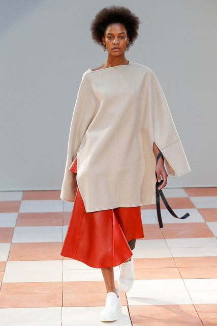 Celine Fall 2015 Ready-to-Wear on style.com | Model : Karly Loyce