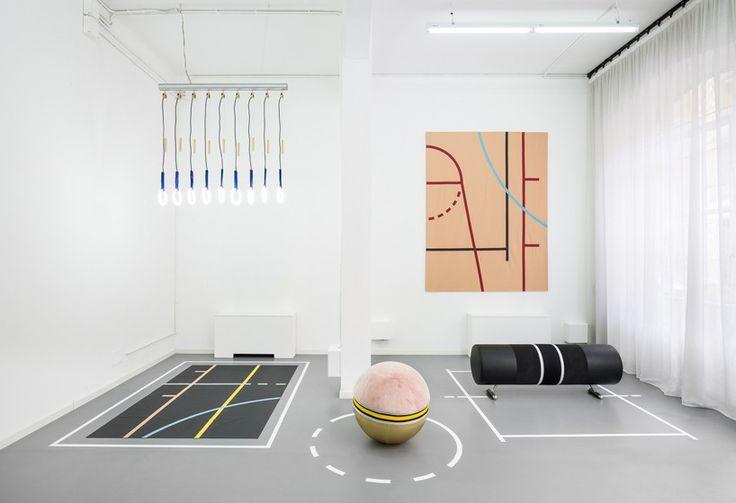 BODY BUILDING exhibition during Milan Design Week 2015 | designer : Alberto Biagetti | artist : Laura Baldassari | curator : Maria Cristina Didero | http://atelierbiagetti.com/en/exhibition/body-building-2