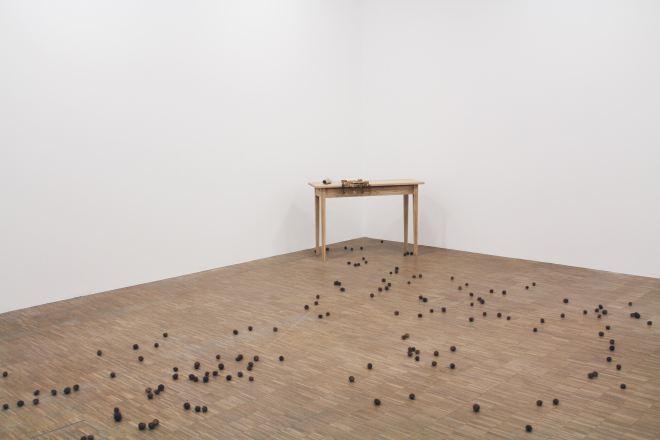 Recollection, 1995 | Mona Hatoum exhibition, Centre Pompidou, Paris | Photographed by Clarissa of Youneedacocktail