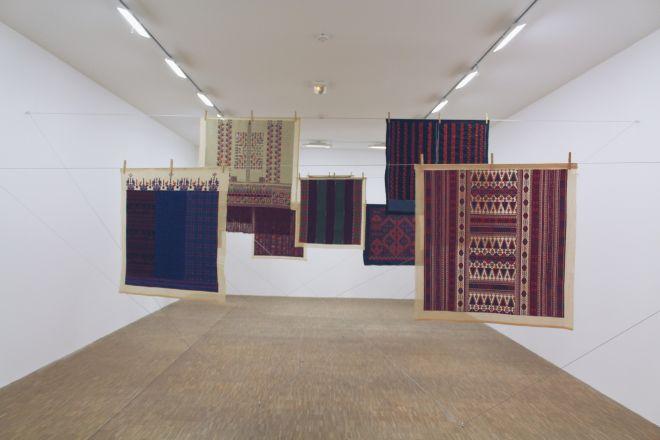 Twelve Windows, 2012-2013 | Mona Hatoum exhibition, Centre Pompidou, Paris | Photographed by Clarissa of Youneedacocktail
