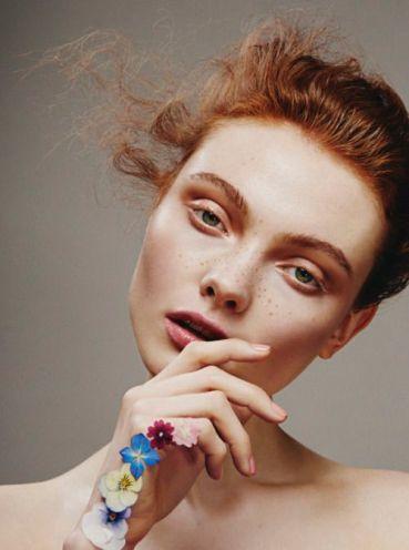 Modern beauty - Georgie Hobday for Hunger magazine