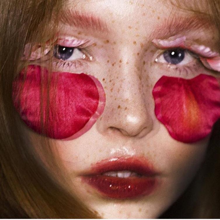 Photographer Pier Alexandre Gagne, model Sierra, makeup Kelseyanna Fitzpatrick